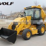 Hot sale in Africa market construction equipment backhoe loader for sale with cheap price