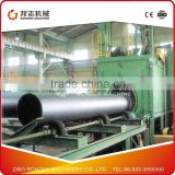 QG Series Steel Pipe Outer/Iner Wall Special Shot Blasting Cleaning Machine Used For Duct Blaster