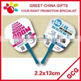 Promotional Chinese Plastic Hand Fan Hand Held Fan Custom Designs Business Advertising Gifts
