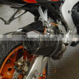high performance motorcycle slip on Hexagonal Carbon Fiber Muffler for Honda cbr1000rr(08-14)