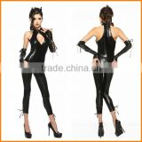 Halloween party clothing Costumes Cat piece of leather clothing section of the club to take the cat to pack the devil