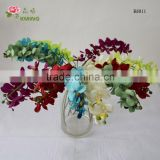 real like artificial silk orchid flower plants orchid head