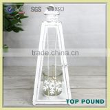 Wholesale Low Price High Quality Christmas Metal Candle Lantern For Home Decor