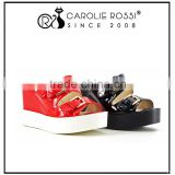 girls platform high heel sandal women rubber flip flop slipper pu