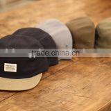 High Quality 5 Panel Cap Manufacturer Custom 5 Panel Camp Cap with Woven Label                                                                         Quality Choice