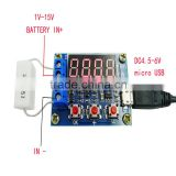 1.5v~12v Battery Capacity Meter discharge Tester for 18650 li-ion lithium lead-acid battery