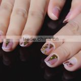 Fashionable Laser High Quality Self-adhesive Miracle Nail Sticker Nail Art