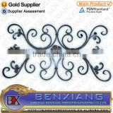 High quality and cheap wrought iron rosettes used for wrought iron gates handrails and fences