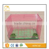 Double Breeder Brass Bird Breeding Wire Cage For Sale