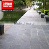 Honed bluestone slab blue limestone From China Manufacture natural stone polished slate plate wholesale floor