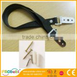 Black Anti-Tip Furniture and Flat Screen TV Safety Strap with Screws                                                                         Quality Choice