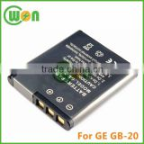3.7V Lithium ion Battery Digital Camera and Camcorder Battery for GE GB-20, E840S, G1, G2, G3