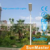 5w led light bulbs all in one solar led street light with solar panel/available led street lights