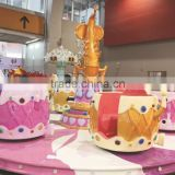 China Indoor/Outdoor Entertainment Kids Amusement Park Rides Rotary Coffee Cup Rides for Sale