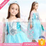 Wholesale 10s costumes Party kids fancy Dress Elsa Princess Child Costume