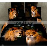 bedding set 3d with different animals printing for sale