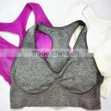 Shantou Womens Yoga Wear Girl Sport Wireless Seamless Running Top Vest Stretch Bras Various Colors Underwear