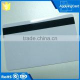 Employee id card design bulk rfid blank magnetic stripe card with free samples