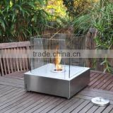 2015 Cute bio ethanol table top fireplace