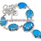 Blue Copper Turquoise Jewellery Inexpensive Sterling Silver Rings White Gold Chain Opal Necklaces