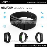 OEM/ODM customized bluetooth continuous heart rate monitor Smart cicret bracelet compatible with mobile phone