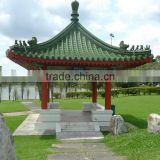 Inquiry About Supply to Malaysia Chinese garden Green roof tiles