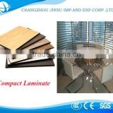 10mm compact laminate/hpl formica sheets