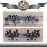 Two-cylinder rocker arm assembly for tractor, walking tractor two-cylinder rocker arm assembly