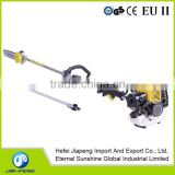 Popular pole 52cc chainsaw or long reach pruning chainsaw or long handle pole saw at 33cc,43cc,52cc