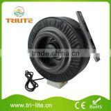 12 Inch Hydroponics Ventilation Duct Fan Grow Lighting Hydroponics Carbon Filter Inline Fan