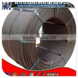 ASTM A416 9.53mm 7wire railway sleeper used pc steel wire strand