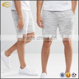 Ecoach top quality men boys grey jersey fabric Street shorts wholesale 2016 custom design lightweight beach party sweat shorts