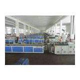 WPC PVC Skirting Board Production Line , Double Screw Extruder