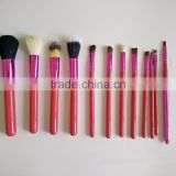 Professional Make Up Brushes Cometics Lip Liner Holder Bag Make Up Kit 12 PCS Cosmetic Pencil