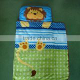 indoor & outdoor floor mat for kids printed animal design 3 pcs set baby sleep nap mat with blanket & pillow