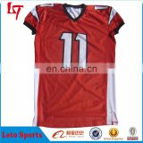 Full sublimation printing 100%polyester custom youth American football jerseys/Team wear