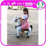 HI CE/AZO/RoSH standard walking ride on horse toy pony