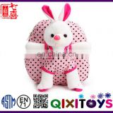 Special design cute plush rabbit backpack for girls