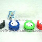 Mini yoyo for kids wheel style yoyo plastic