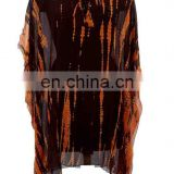 Womens Georgette Beachwear Swimwear Beach Dress kaftan