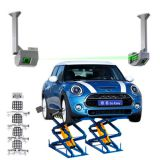5D Wheel Alignment for Mini-scissor Lift Wheel Alignment
