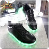 new shoes with nice leds Flahing LED shoelace with high quality,fashion design for dance floor and party,bar,factory in Shenzhen