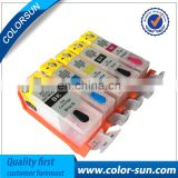 Refillable Ink Cartridge for Canon second series Pgi-520/Cli-521 220 221 320 321