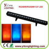 high power 18PCS RGABW 5in1 led wall washer,led wash lighitng,building color wash