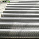 Stainless steel V shaped wedge wire wrap screen