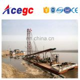 River/lake sand collecting/gold mining drilling dredger equipment