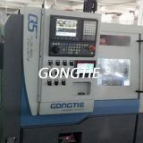 CNC lathe Front Feeding in Vibration