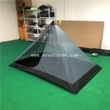 Outdoor 2 Man Camping Mesh Tents, Summer Mosquito Net Hiking Rodless