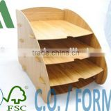 Bamboo File Holder/bamboo file collection/file folder
