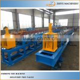 Gutter Cold Forming Making Machine/ Half Round Gutter/ Downspout Machinery Production Line